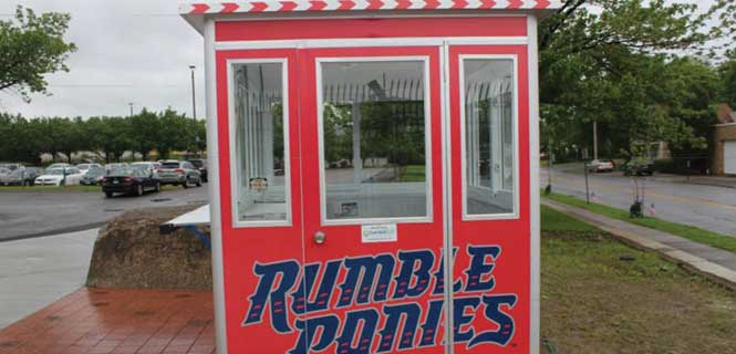 custom design for ticket booth