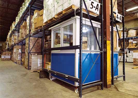 Prefab modular factory office