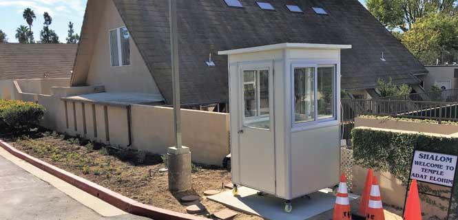 4x6 guard shack