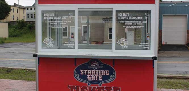 ticket booth windows