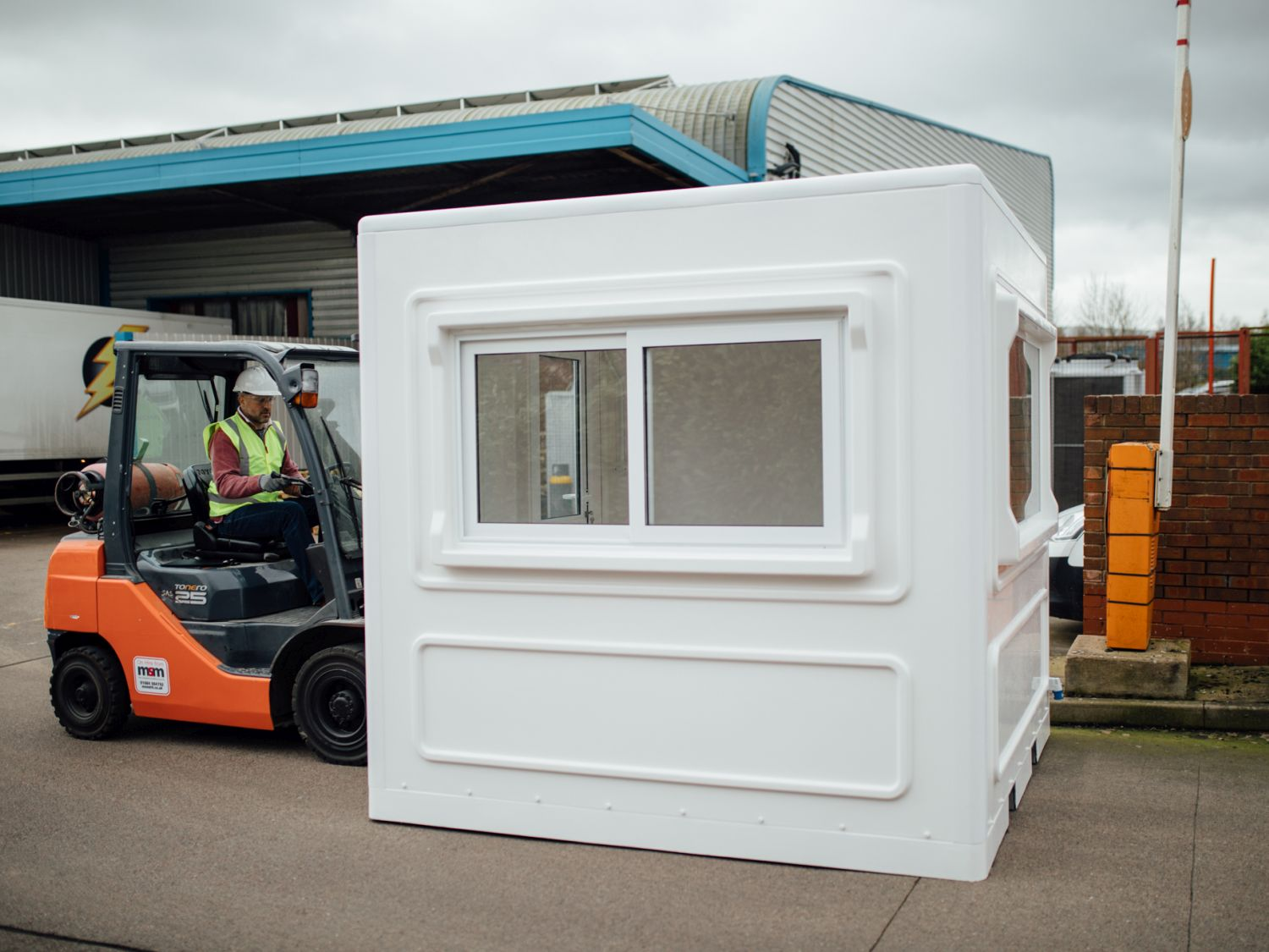 Booth from UK Kiosks in Worcestershire, UK