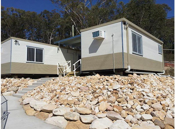 Security shack and modular building structures manufactured in Australia