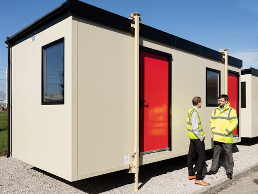 Modular unit from Wernick in Port Talbot, UK