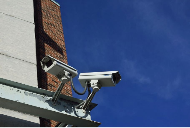 Visible security cameras act as deterrent