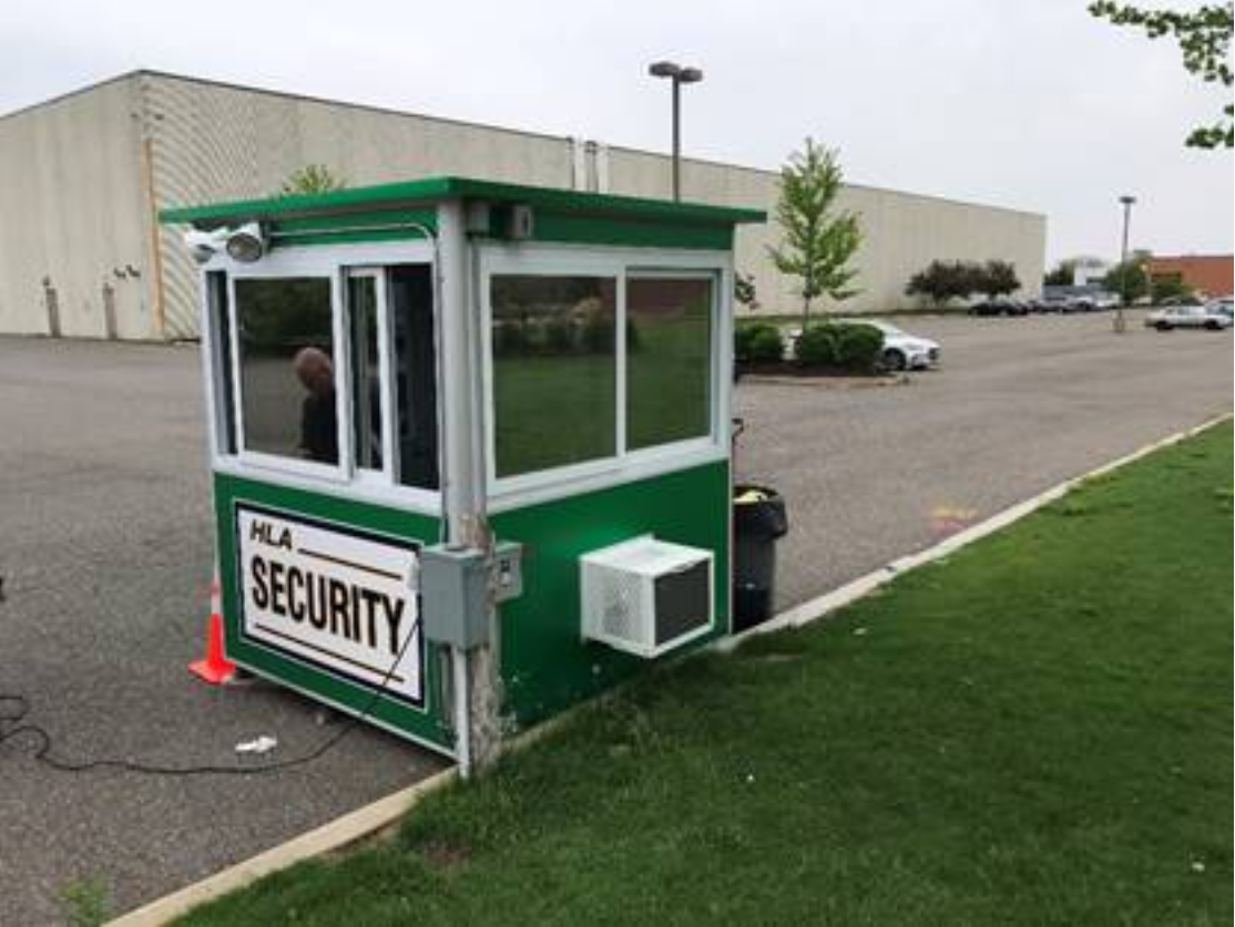 Green security booth