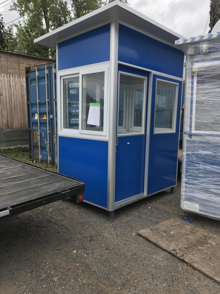 4x6 Booth with Pitched Roof