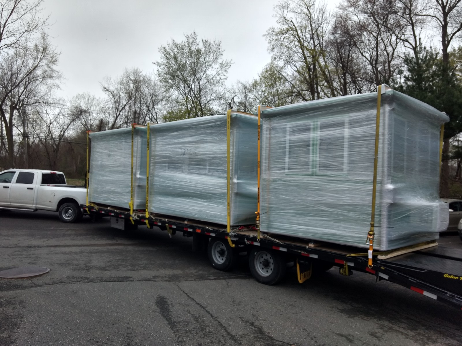 8x10 Booths ready for Delivery in Jacksonville, FL with Built-in AC and Sliding Windows