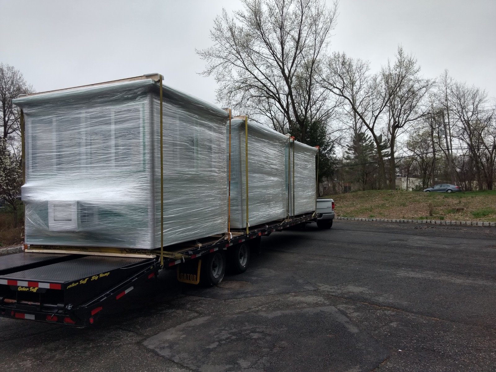 8x10 Booths ready for Delivery in Jacksonville, FL