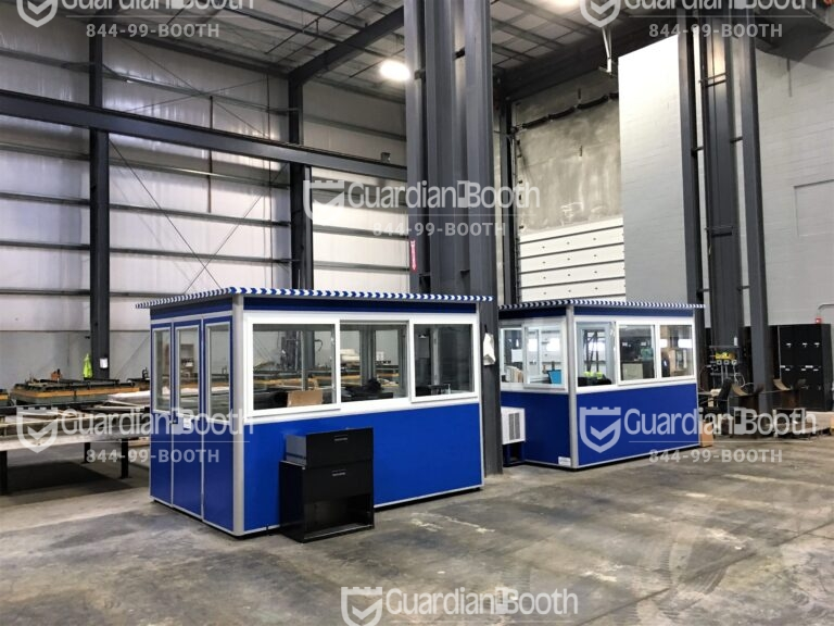 8x10 Modular Office in Millville, NJ with Baseboard Heaters, Built-in AC, and Breaker Panel Box