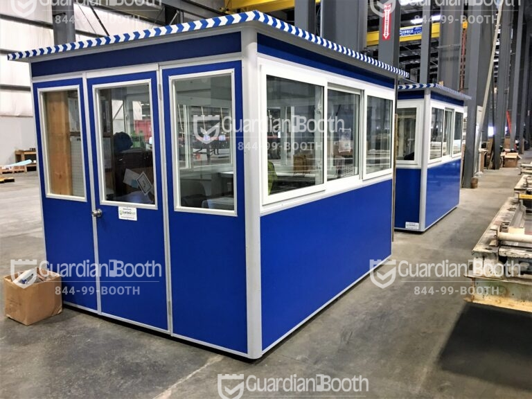8x10 Modular Office in Millville, NJ with Fixed Windows and Ethernet Port and Phone Line