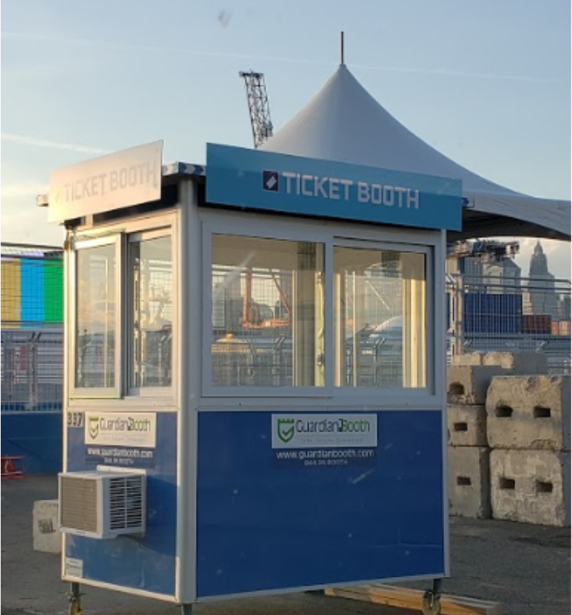 Guardian booth ticket booth