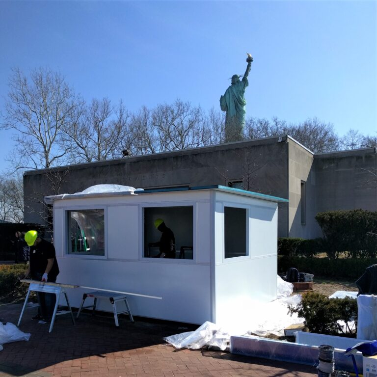 10x12 Booth in New York, NY at the Statue of Liberty