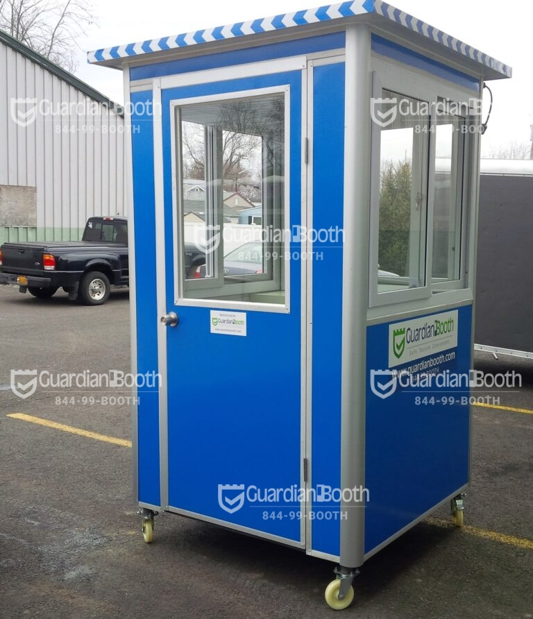 4x4 Booth with Add-On Feature - Caster Wheels