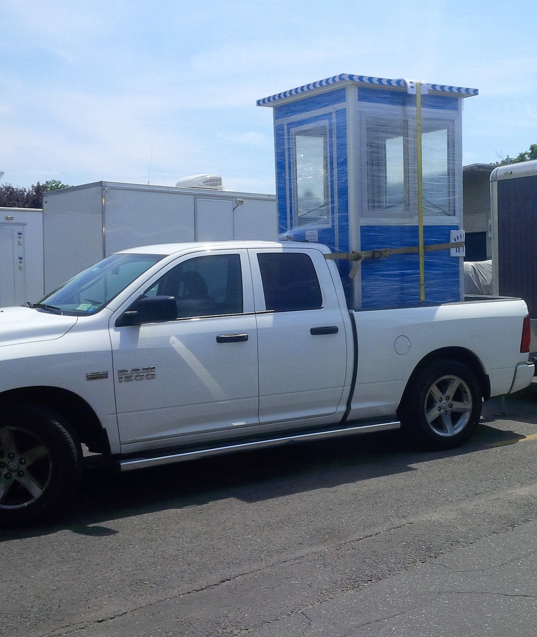 4x4 Booths ready for Delivery in Edison, NJ with Sliding Windows and Swing Door
