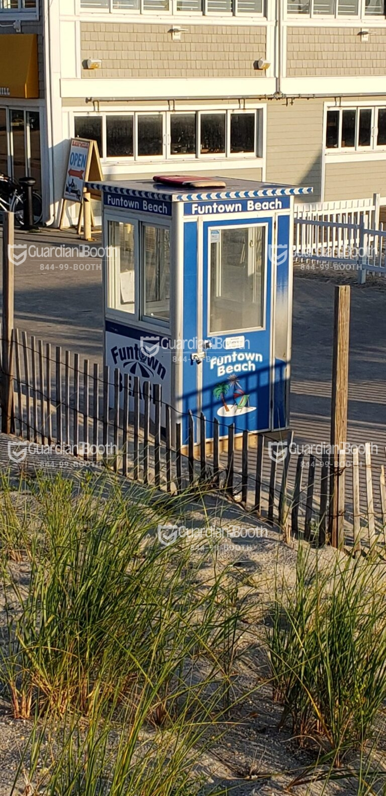 4x4 Cashier and Ticket Booth Seaside Park, NJ wiht AC Unit