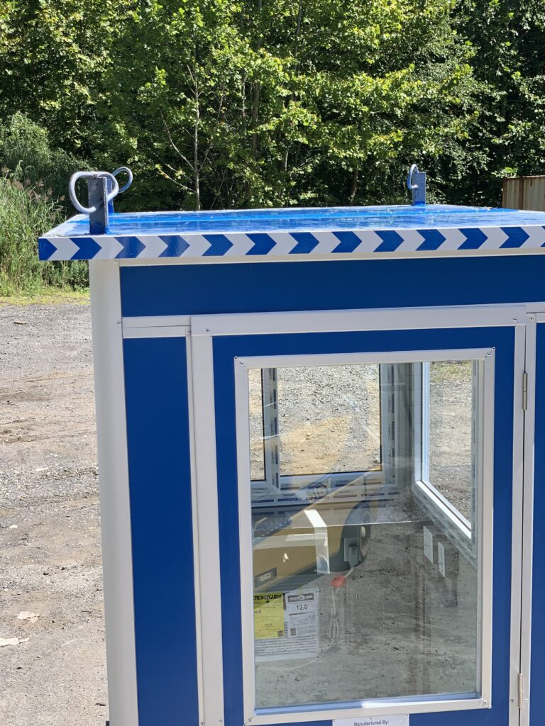 4x6 Booth with Add-On Features Roof Rings 1