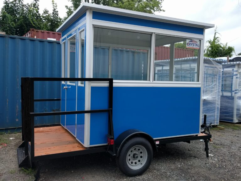 4x6 Portable Trailer Booth in Fort Lauderdale, FL