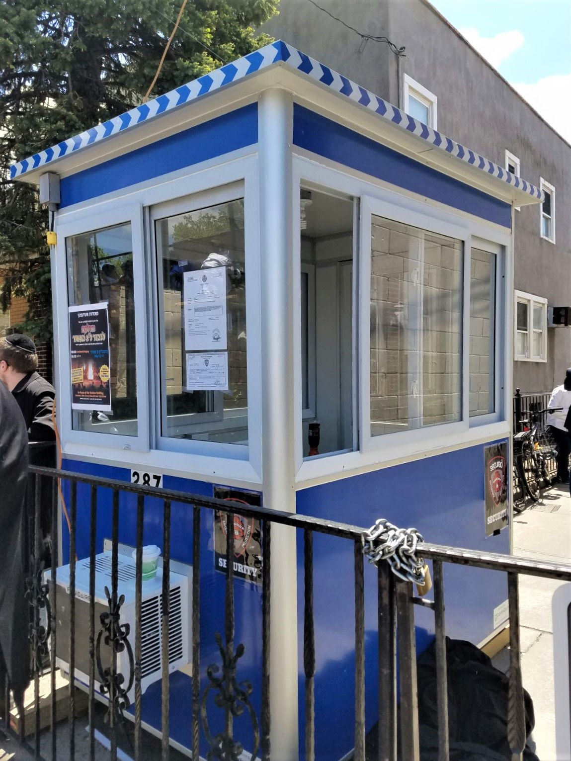 4x6 School Security Booth in Brooklyn, NY