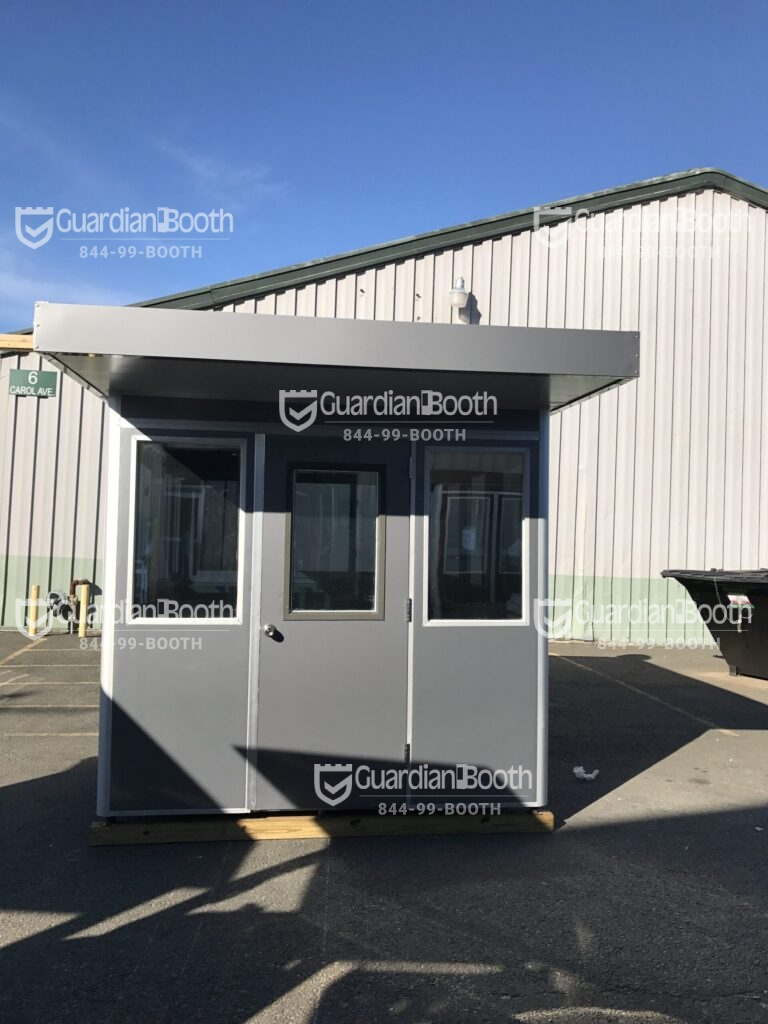 6x6 Booth with Add-on Feature Extended Overhang