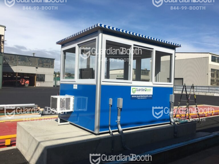 6x8 Booth with Add-on Features Built-in AC, Breaker Panel Box, and Baseboard Heaters
