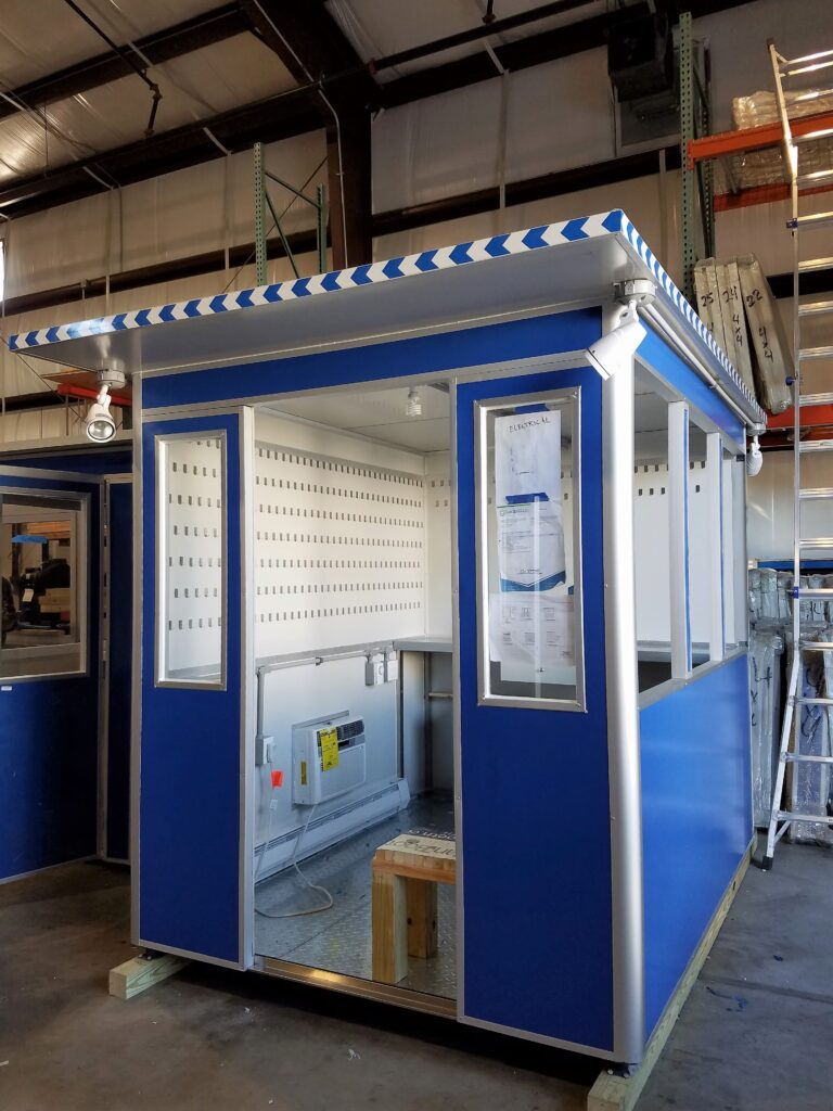 6x8 Booth with Add-on Features Key Hooks