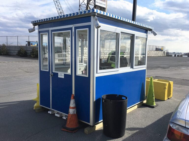 6x8 General Security Booth in Bronx, NY