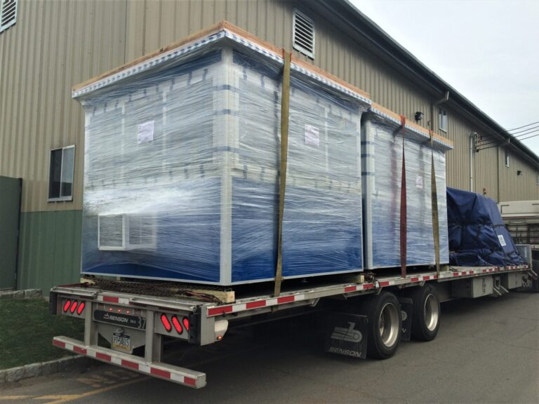 8x10 Booths ready for Delivery in Santa Ana, CA with Built-in AC and Sliding Windows