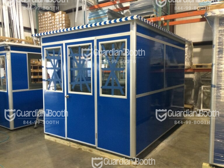 8x10 in Santa Ana, CA with Swing Door and Fixed Windows in Production