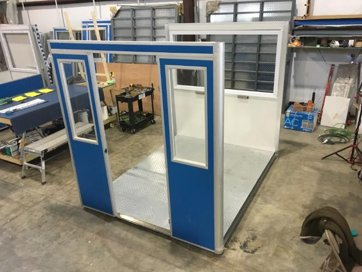 Booth Manufacturing Assemble Line 4