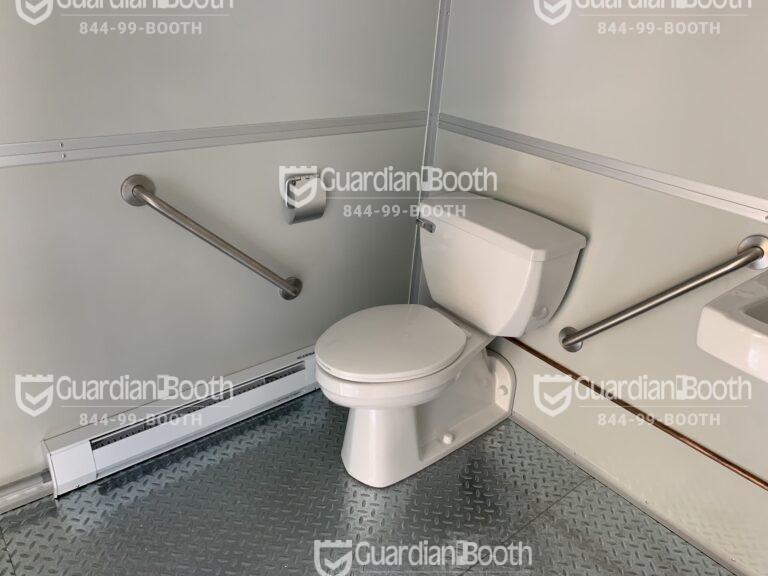 ADA Compliant Bathroom, 11x17 Entrance Gate Booth in Chicago, IL