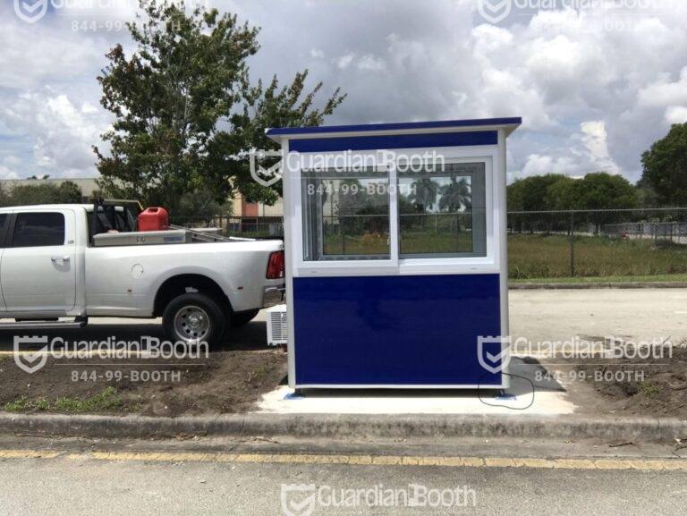 Anchoring Brackets, 4x6 Entrance Gate Booth in Chesapeake, VA