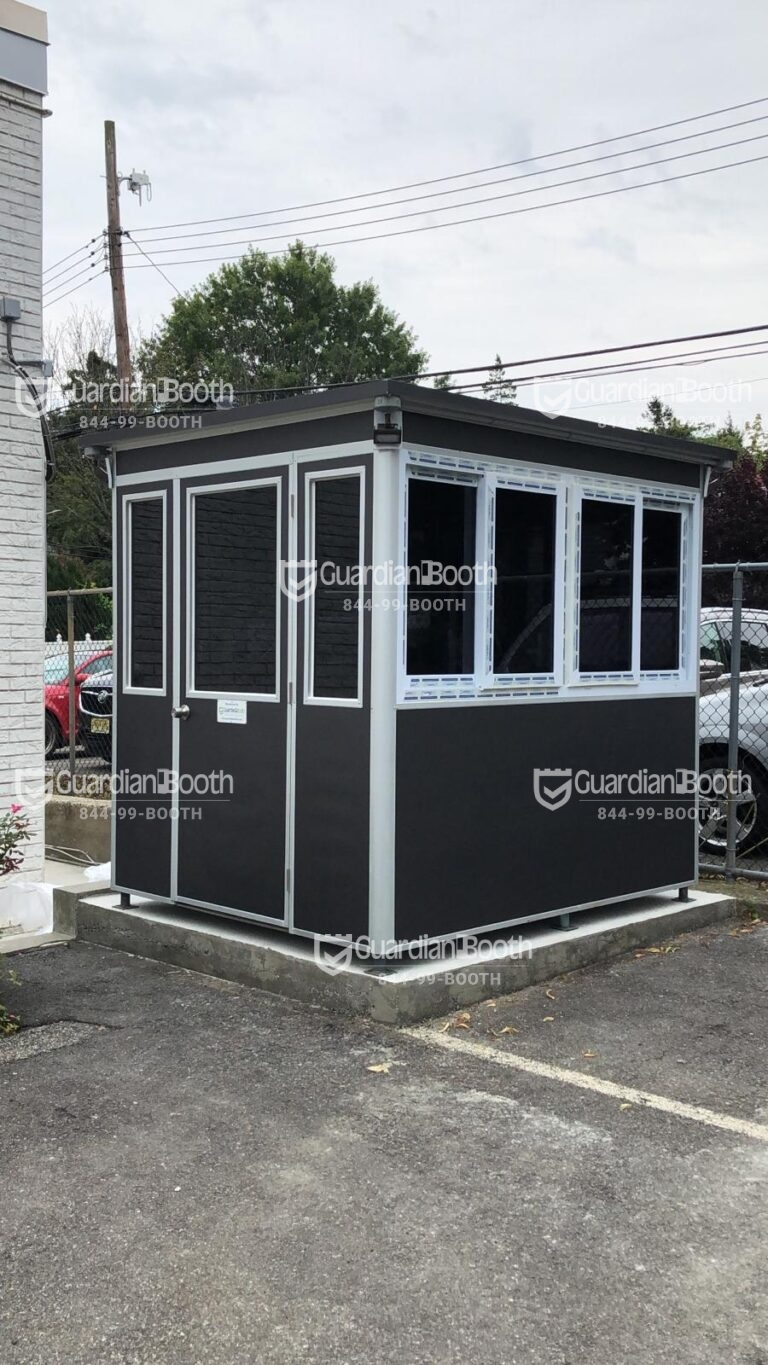Anchoring Brackets, 8x8 School Security Booth in Oklahoma City, OK
