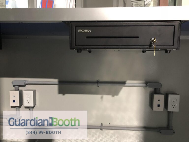 Cash Drawer, 8x12 Ticket and Cashier Booth in Brooklyn, NY