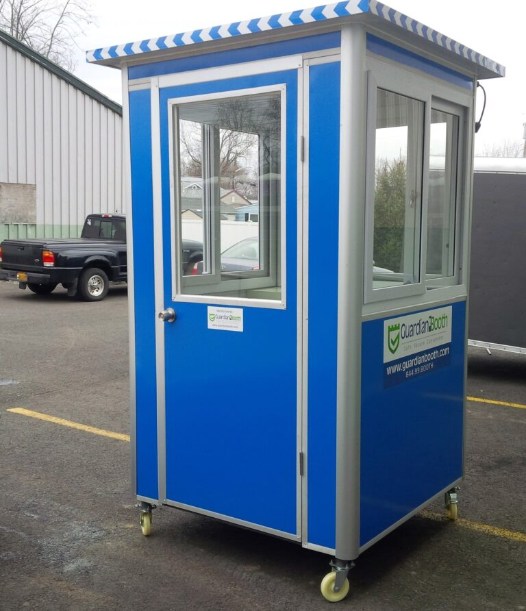 Caster Wheels, 4x4 Entrance Gate Booth in Miami, FL