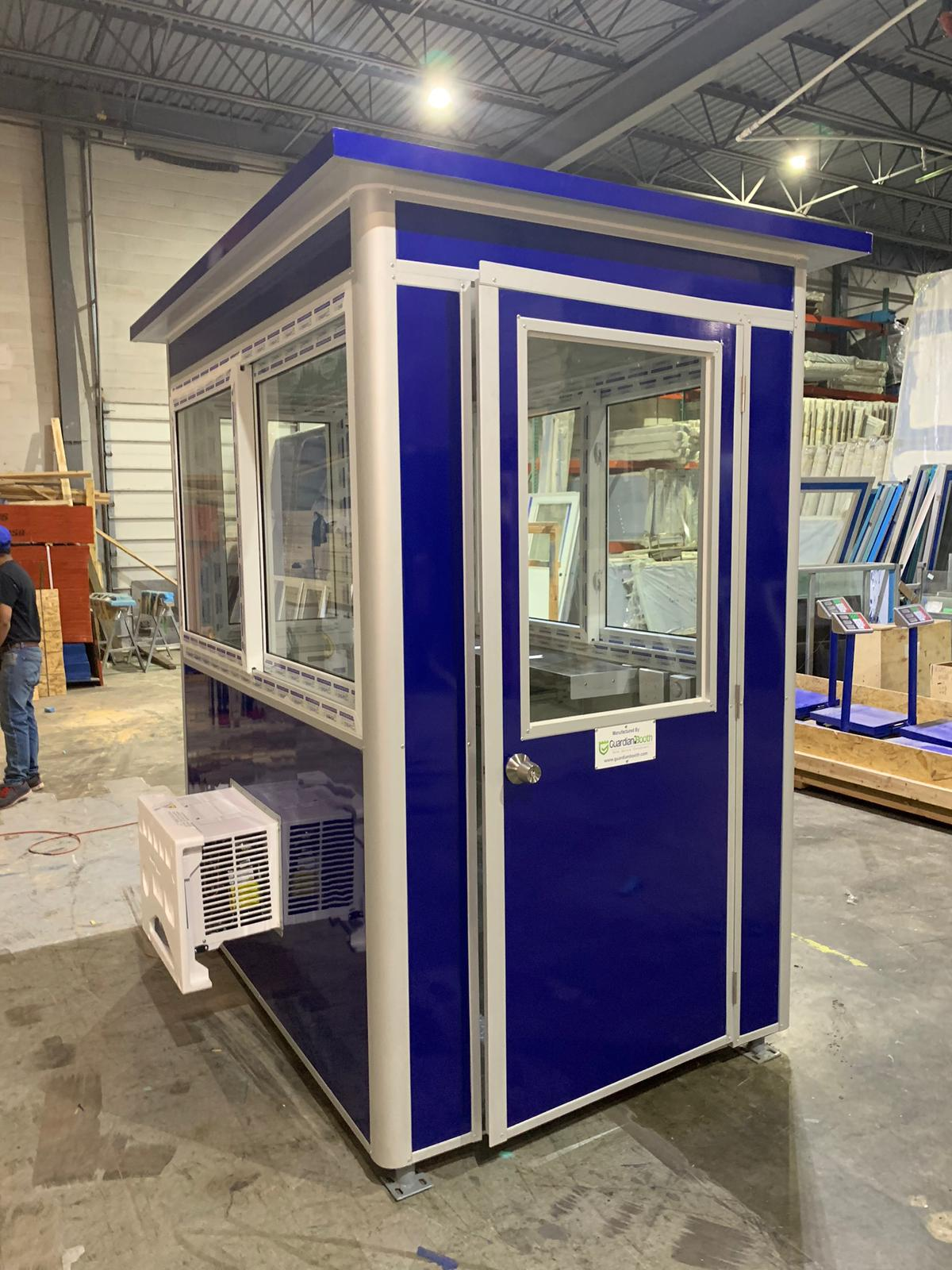 Color Plum Explosion Wrap, 4x6 Entrance Gate Booth in Bloomington, IN