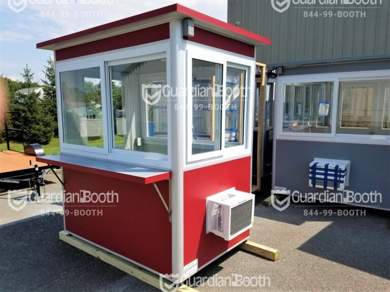 Color Smoldering Red Wrap, 4x6 Ticket and Cashier Booth in Atlantic City, NJ
