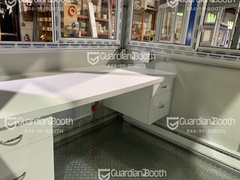 Custom Desk, 6x8 Modular Office Booth in Riverdale, MD