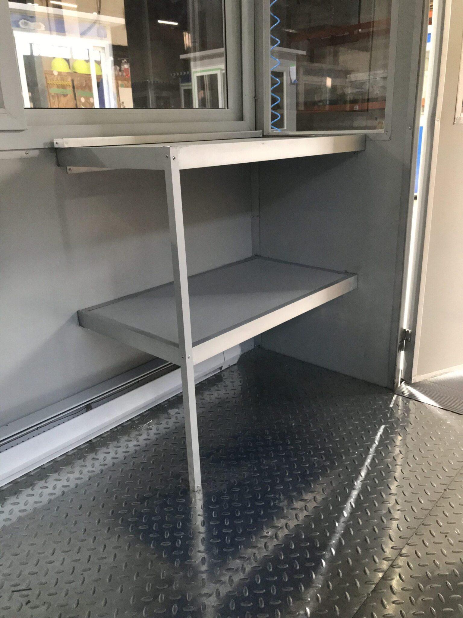 Extra Desk, 4x6 Entrance Gate Booth in Albuquerque, NM
