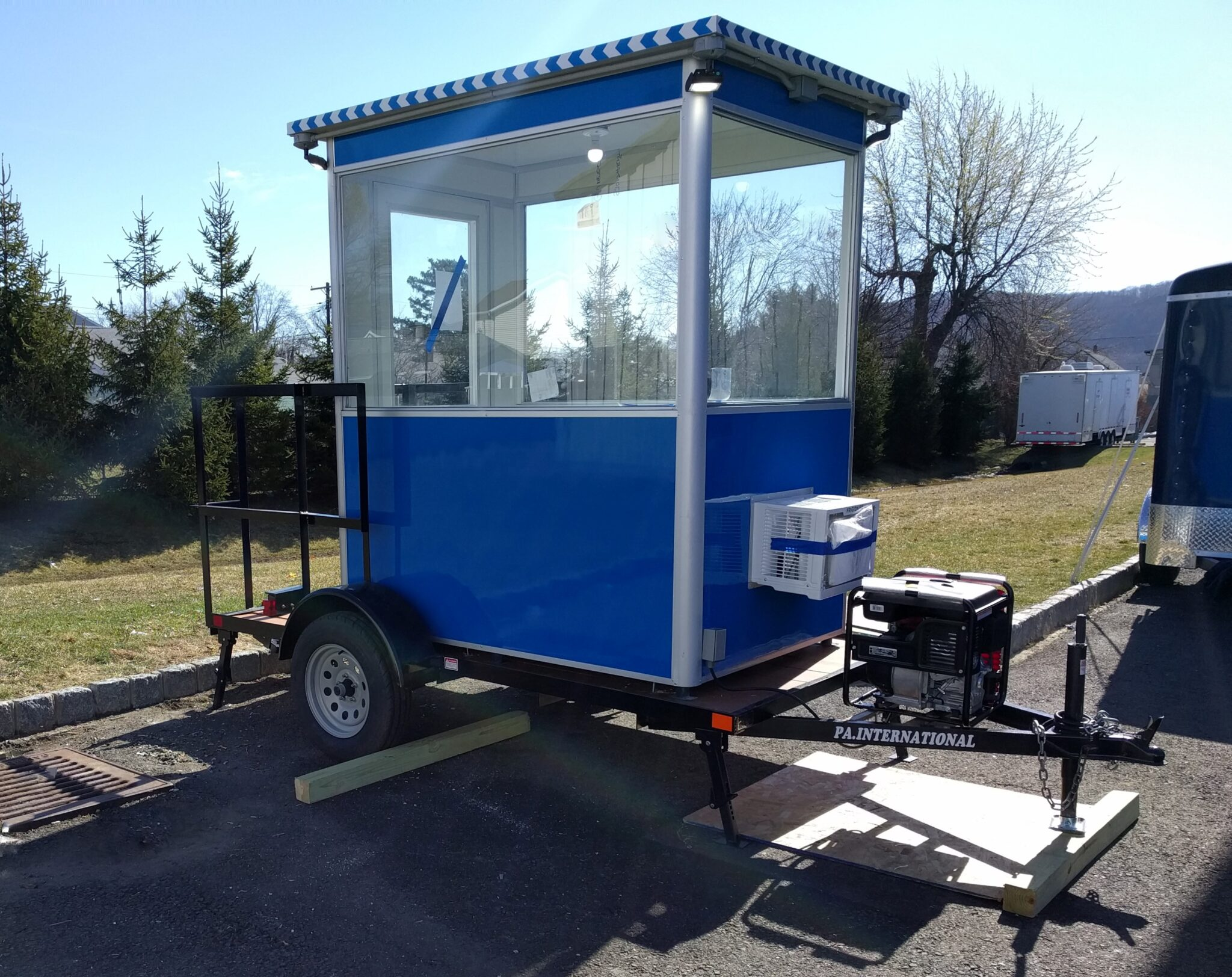 Generator, 4x6 Portable Trailer Booth in Lowell, MA