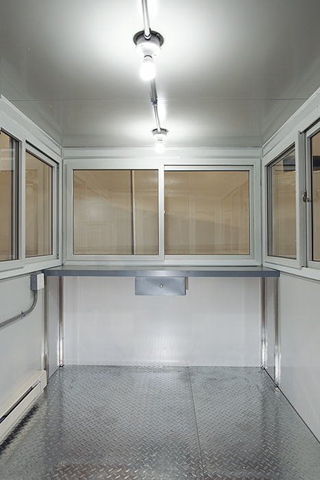 Heat and Air Conditioner, 6x8 Entrance Gate Booth in Carson, CA
