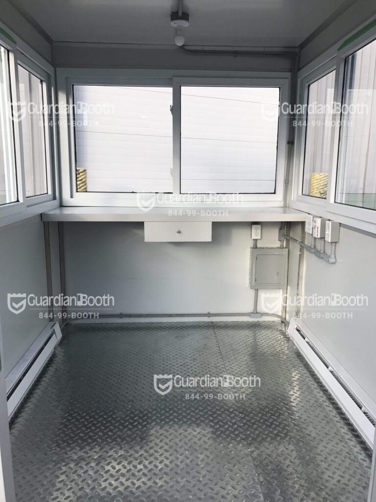 Heat and Air Conditioner, 6x8 School Security Booth, Fishkill, NY