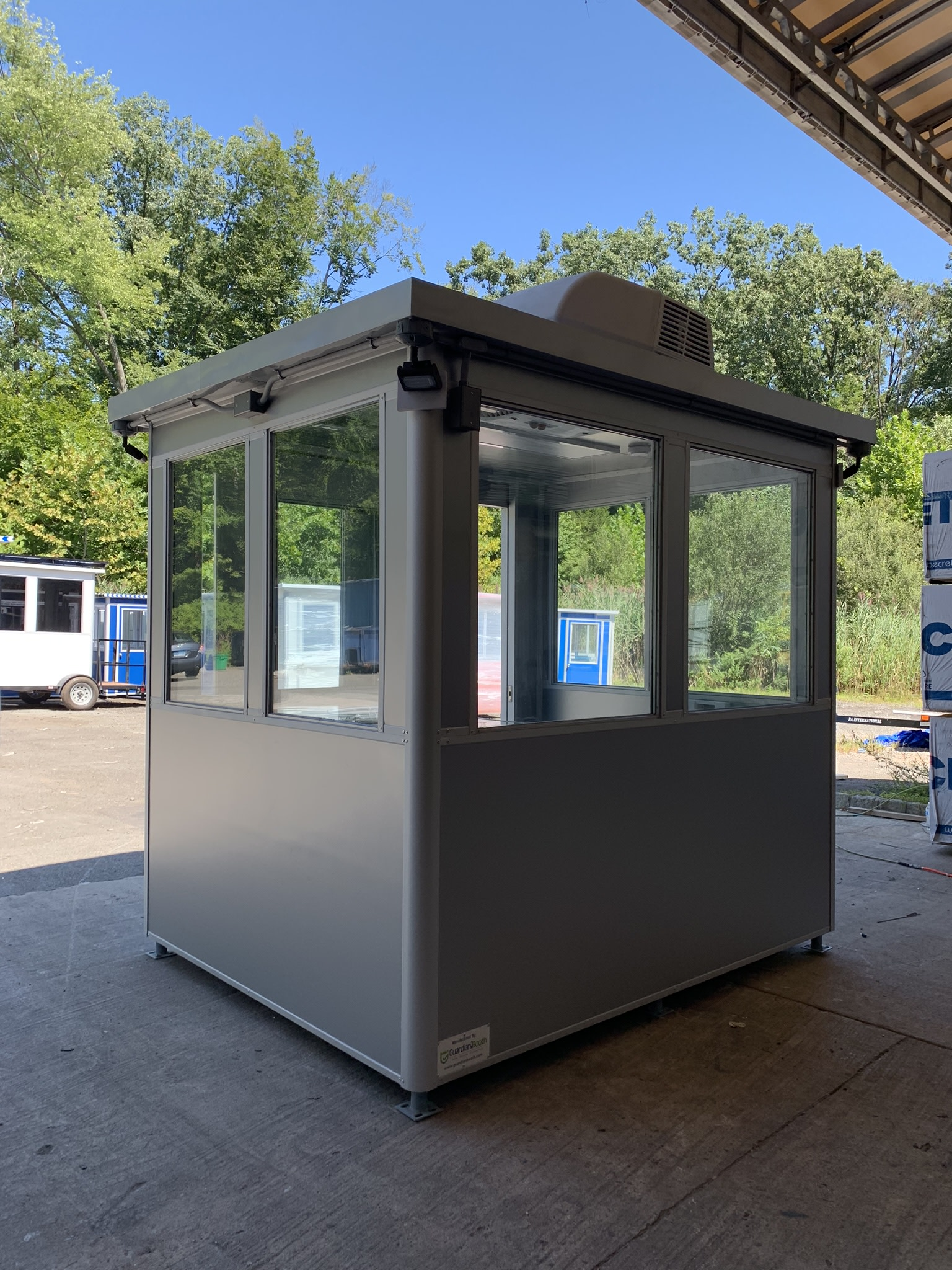 Heat and Rooftop Air Conditioner, 6x8 Entrance Gate Booth in Shippensburg, PA