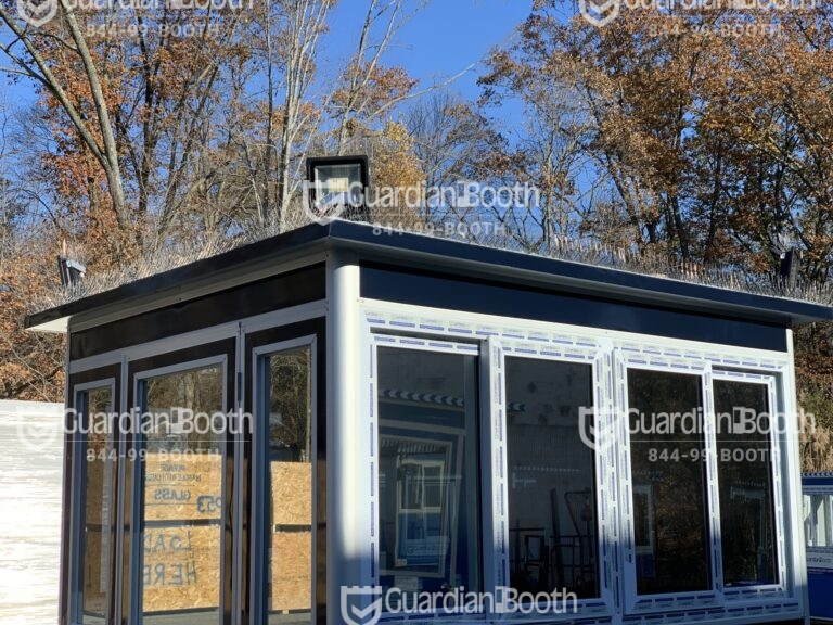 Roof Bird Spikes, 6x8 Entrance Gate Booth in San Diego, CA