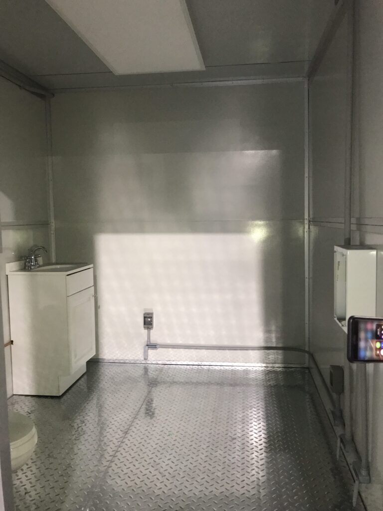 Sink, 11x17 Entrance Gate Booth, Las Vegas, NV