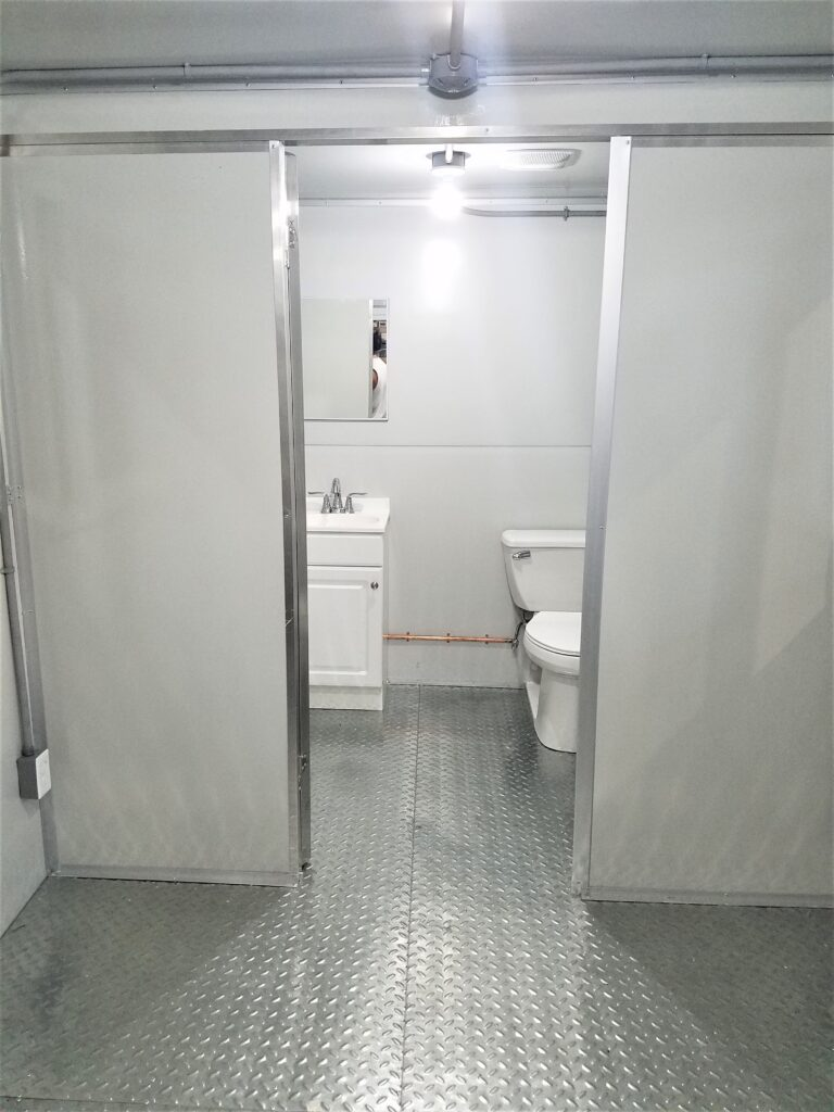 Sink and Toilet, 8x16 Modular Office in Decatur, AL