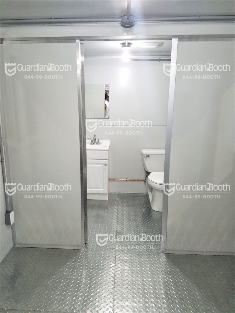 Sink and Toilet, 8x16 Modular Office in Centerville, PA