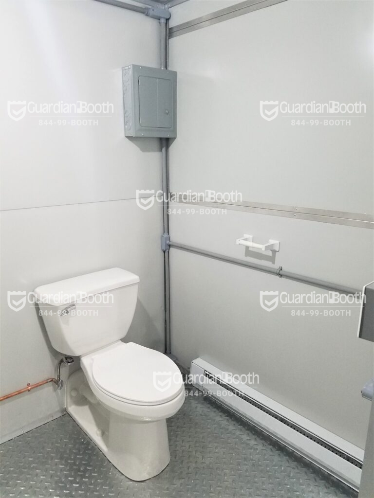 Toilet 8x10 General Security Booth in Philadelphia, PA