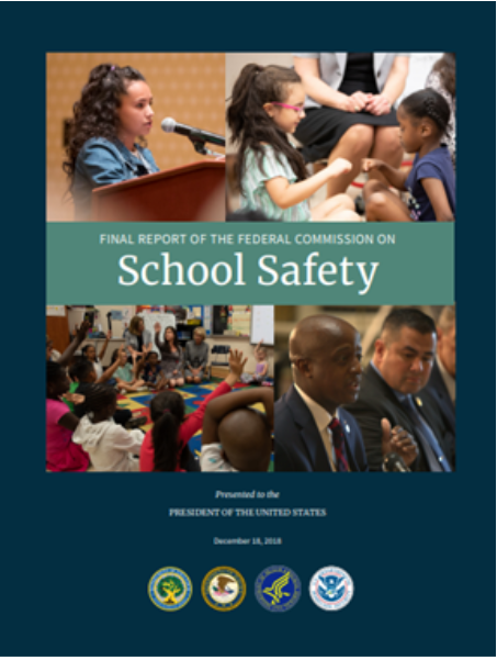 Booklet titled School Safety