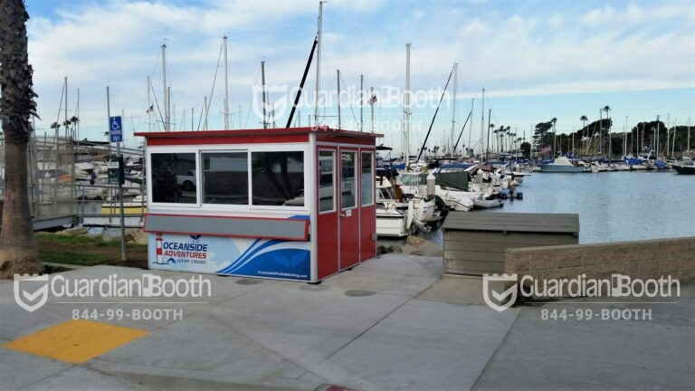 Custom Logo, 8x10 Ticket and Cashier Booth in Oceanside,CA