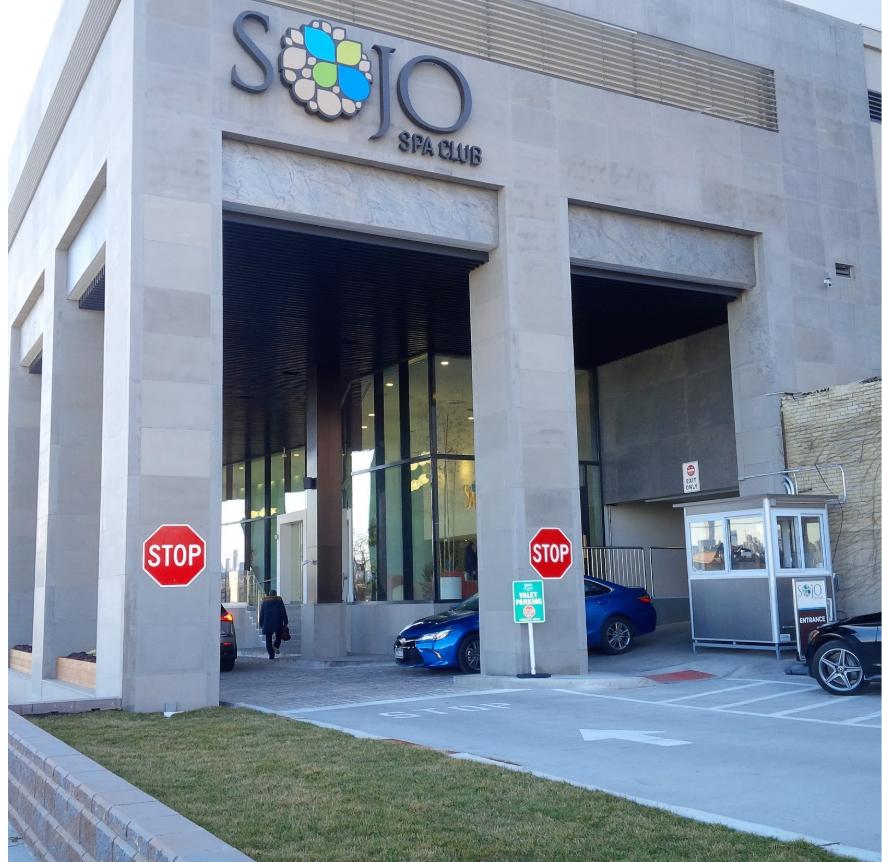 Sojo Spa Club building